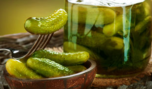 Capers, Gherkins and Pickles