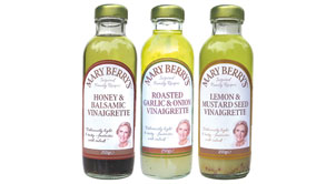 New Vinaigrettes for Mary Berry's