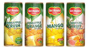 Del Monte's new drinks to go