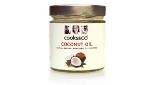 Coconut Oil added to Cooks&Co range