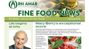 Fine Food News - Spring '16 out now