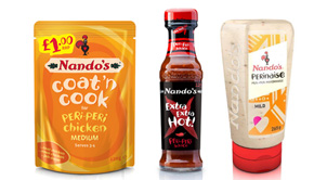 New products galore from Nando's