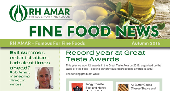 Fine Food News - Autumn '16 out now