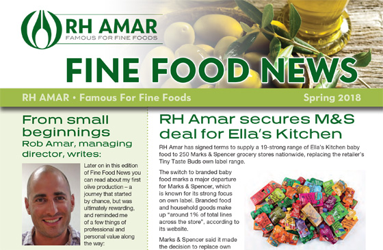 Fine Food News - Spring '18 out now